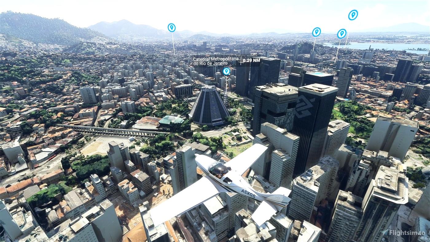 Rio de Janeiro - Centro Flight Simulator 2020