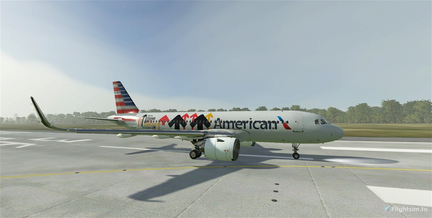American Airlines Stand Up To Cancer | Airbus A320neo Flight Simulator 2020