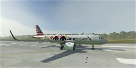 American Airlines Stand Up To Cancer | Airbus A320neo Image Flight Simulator 2020