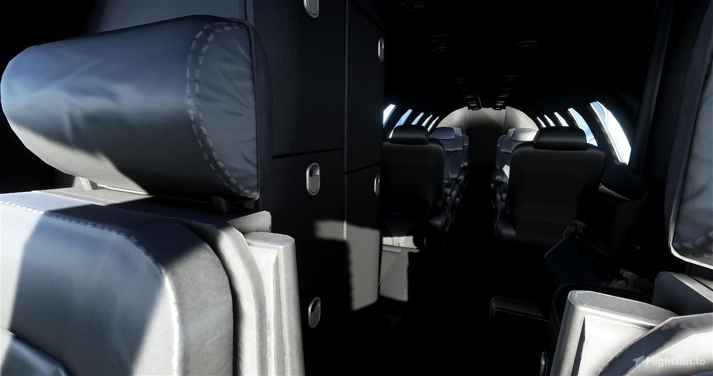 CJ4 - Black interior MOD