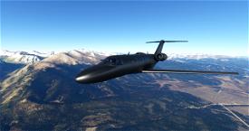 CJ4 Gunmetal Livery with dark interior Image Flight Simulator 2020