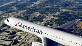 American Airlines [4K] Image Flight Simulator 2020