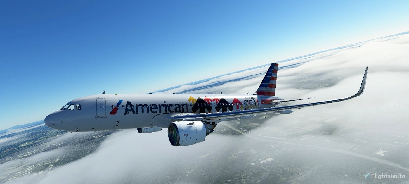 American Airlines Stand Up To Cancer | Airbus A320neo