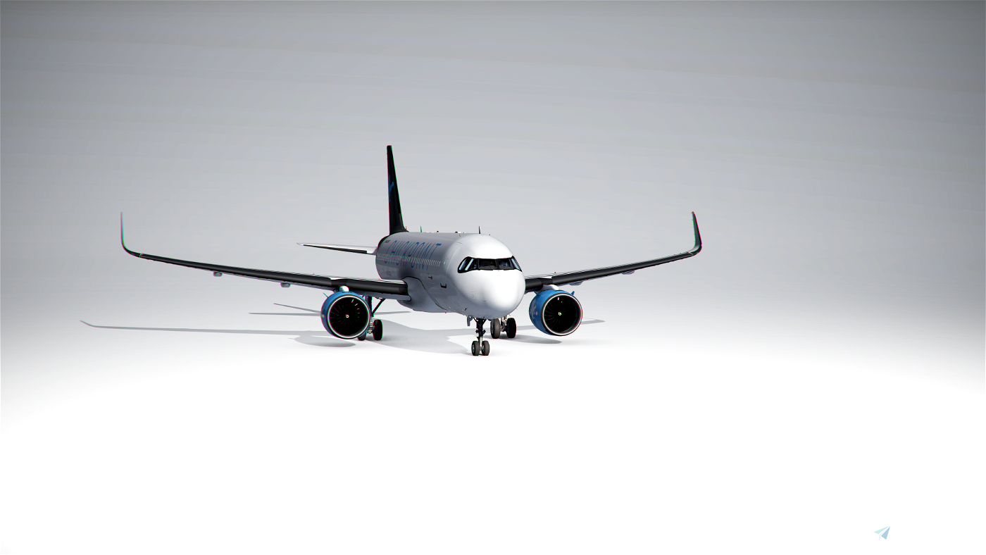 Chickpoint A320 livery Flight Simulator 2020