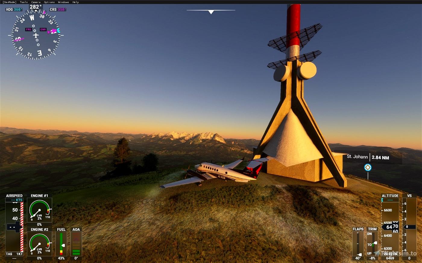 Kasiergebirge (Wilder Kaiser Tirol) • Flight Simulator 2020