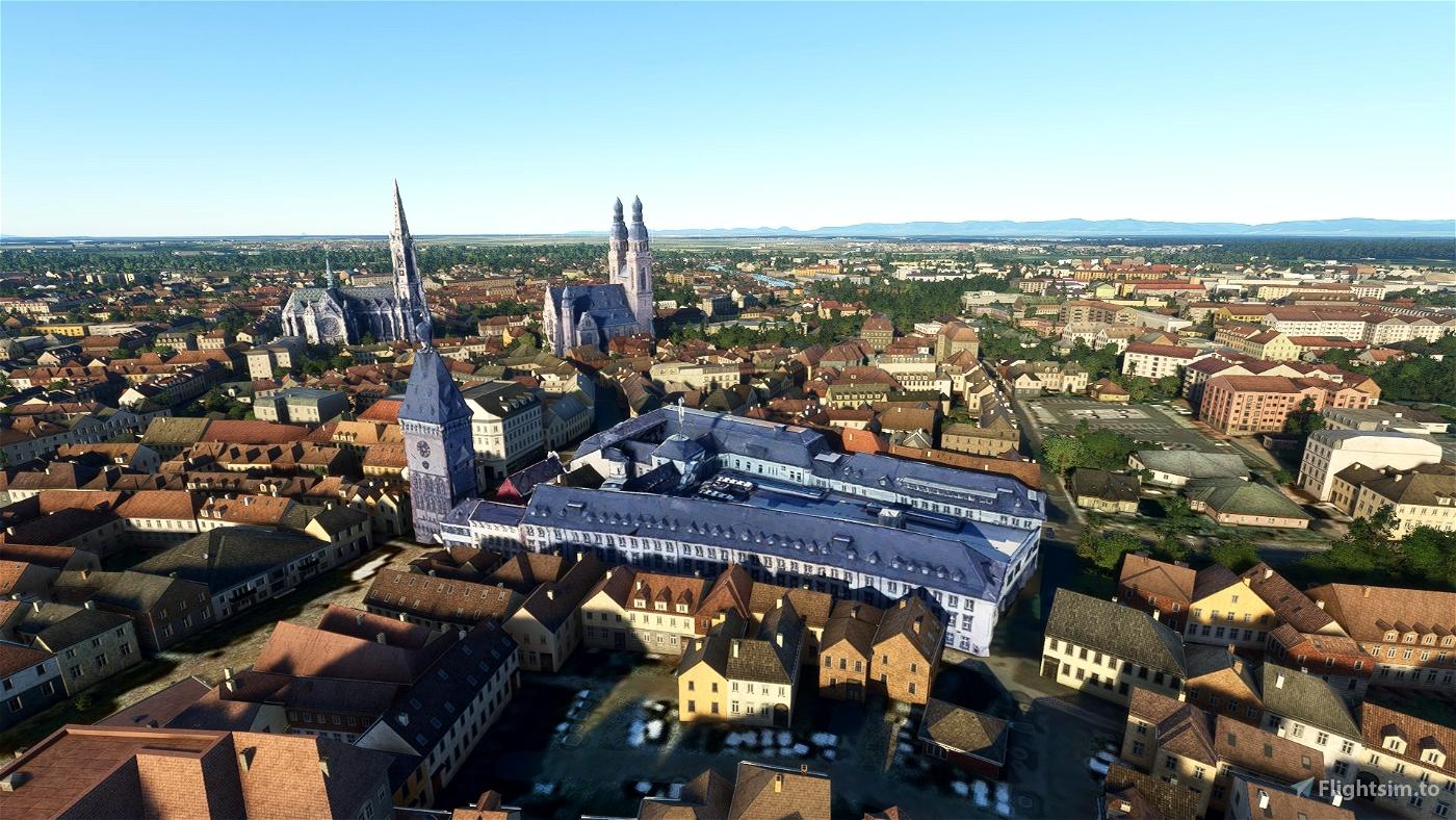 Speyer Altpörtel Flight Simulator 2020