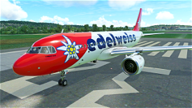 Edelweiss A320Neo (Old Livery) Image Flight Simulator 2020