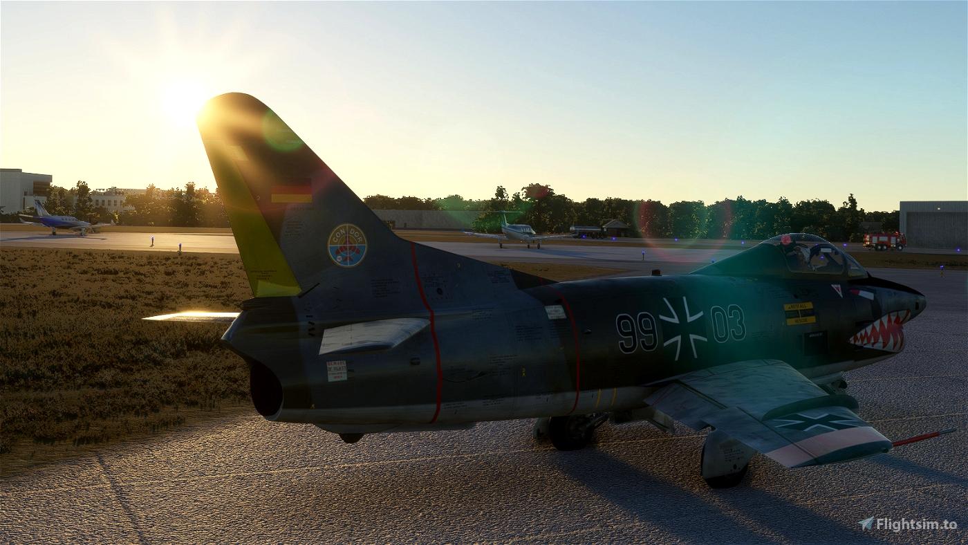 "Aeritalia Fiat Dornier G-91 ""Gina"" - Livery - Luftwaffe  99+03 JaboG33"