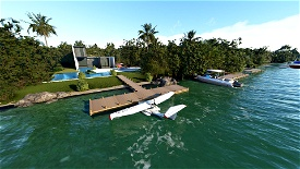 Miami Fun Image Flight Simulator 2020
