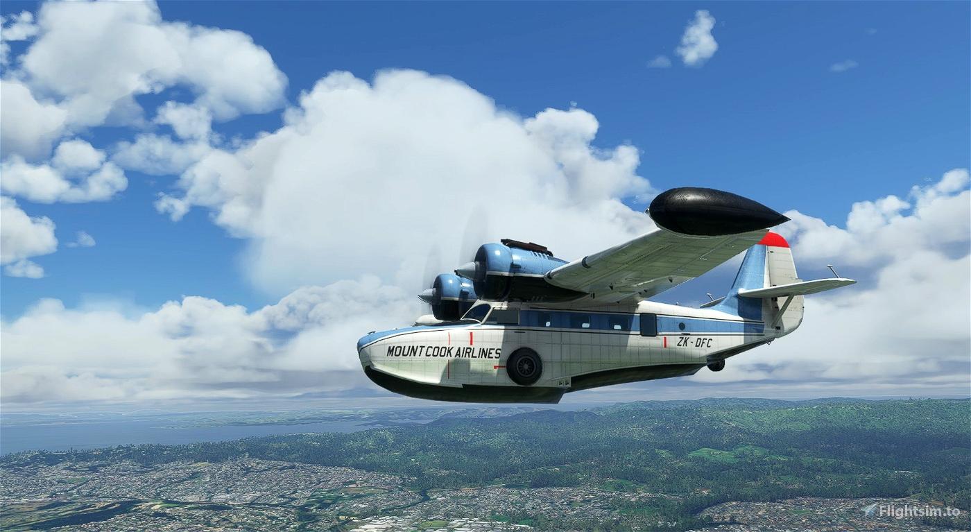 Grumman Goose ZK-DFC Mount Cook Airlines