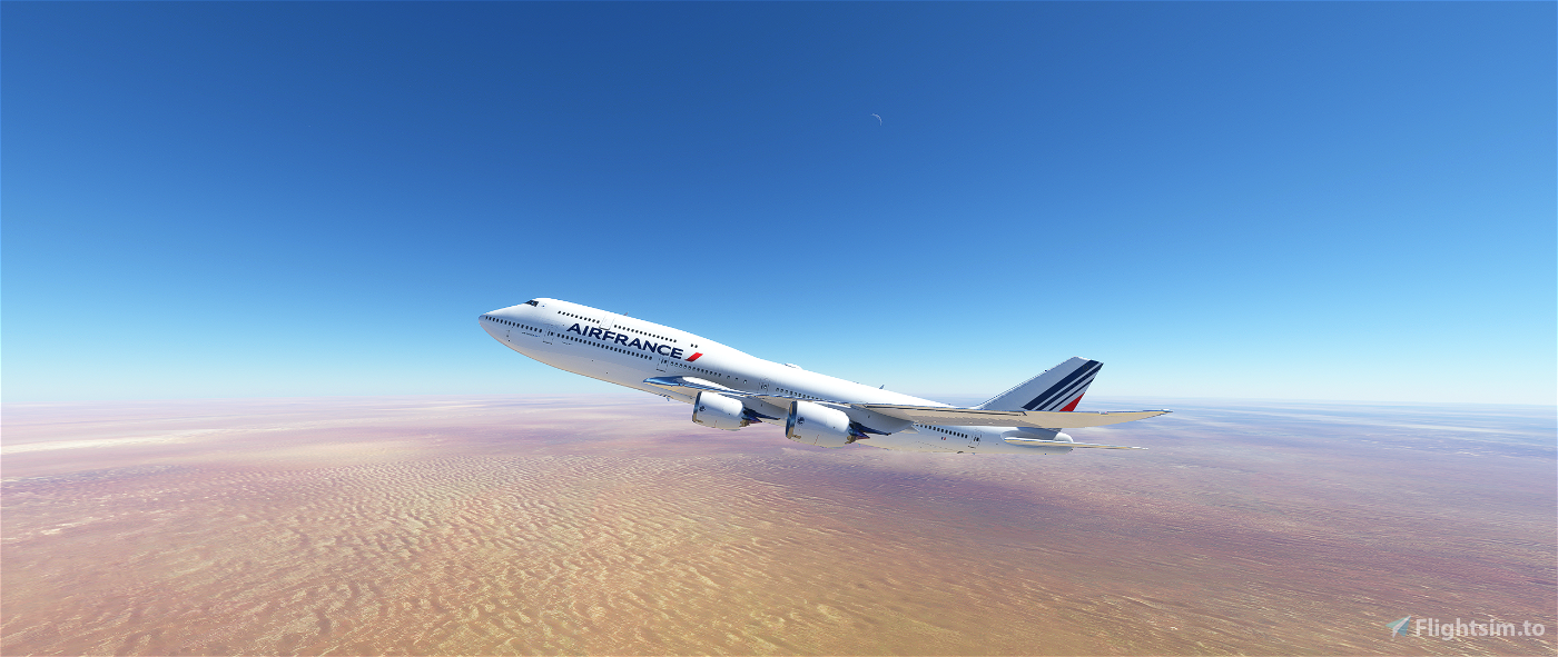 Boeing 747-8i Air France (F-AF747) | Work with 1.12.13.0