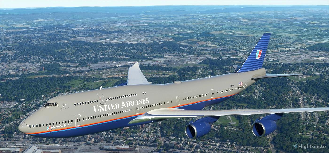 Boeing 747-8 United