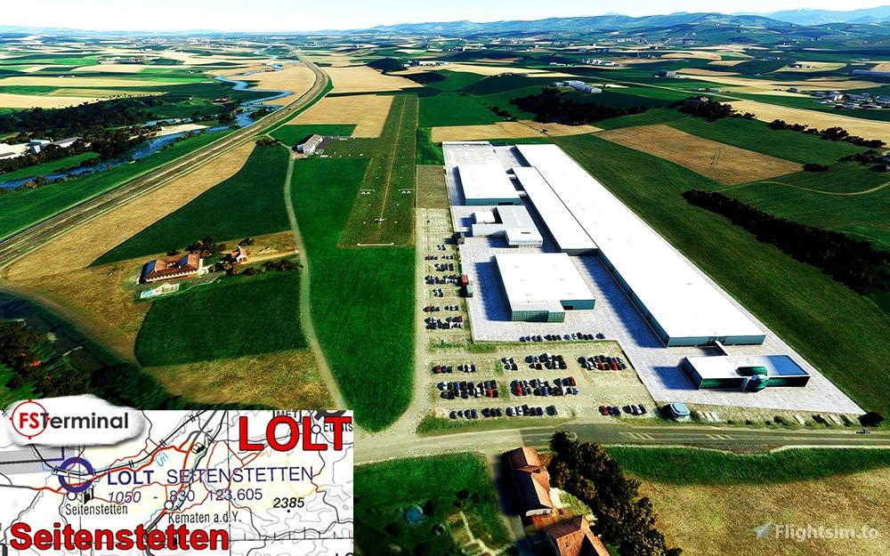 LOLT Flugplatz Seitenstetten Flight Simulator 2020