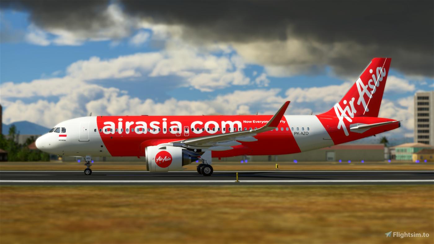 AirAsia Indonesia 8K (PK-AZO) Flight Simulator 2020