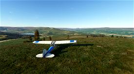 Yorkshire Dales peaks flight plan Image Flight Simulator 2020