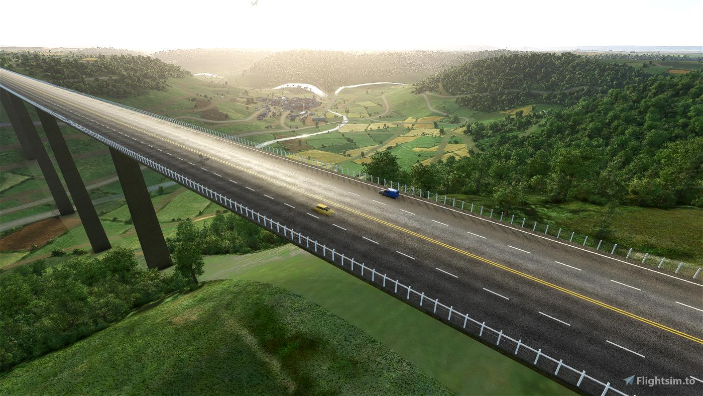 Kochertalbruecke Flight Simulator 2020