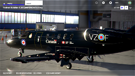Canadian Forces VIP CC-144 Livery (Old 'CANFORCE1') - 4k - WIP Image Flight Simulator 2020