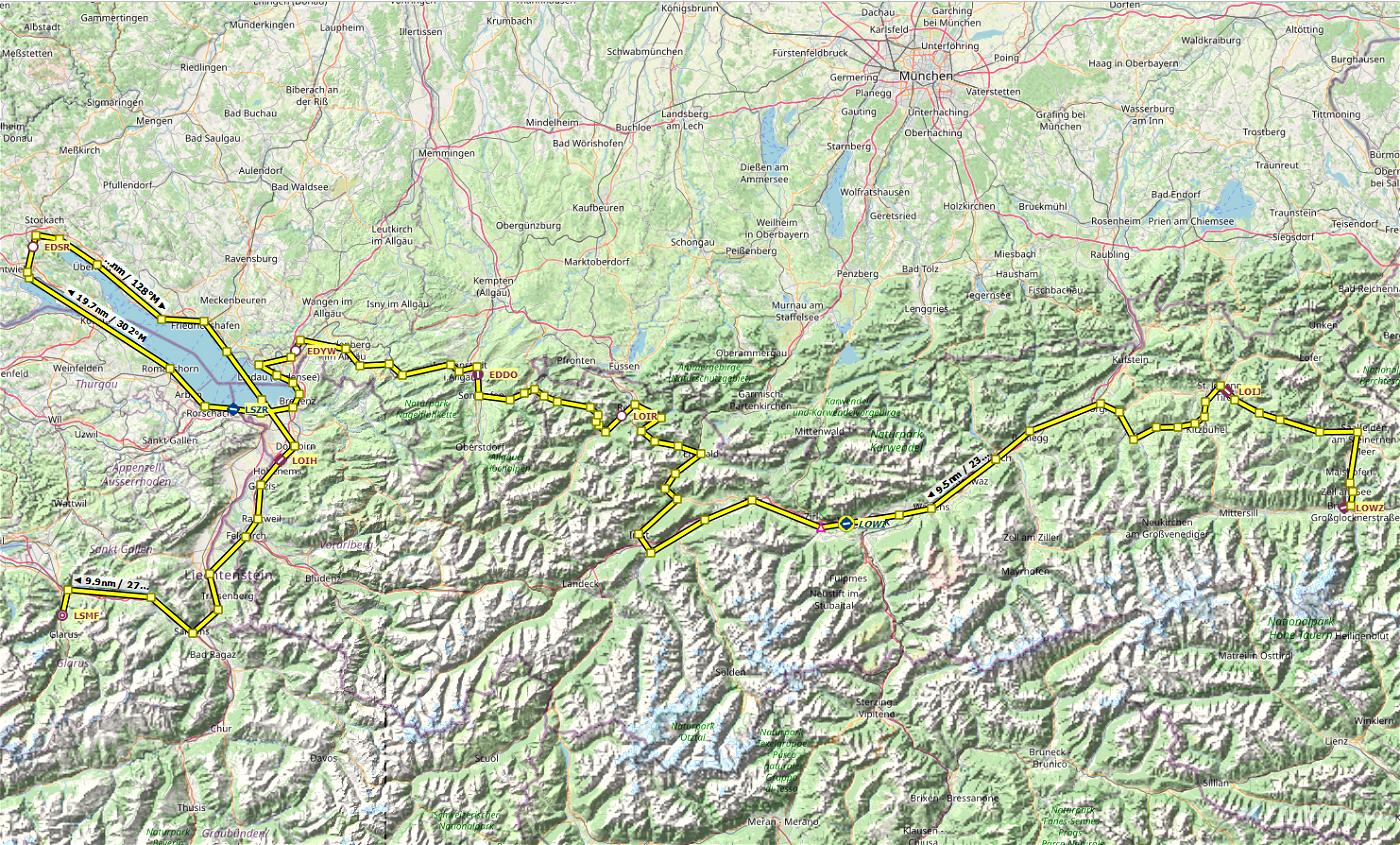 Northern Alps Bush Trip [FlightPlan]