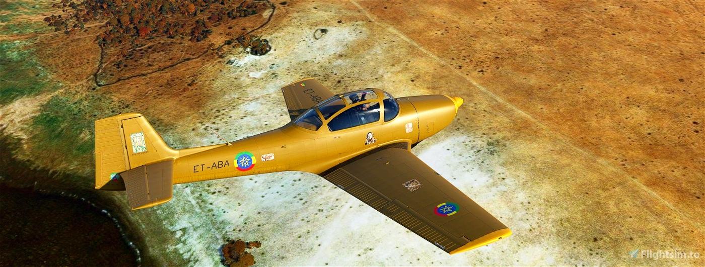 Piaggio_P149_Ethiopia_ET-ABA Flight Simulator 2020