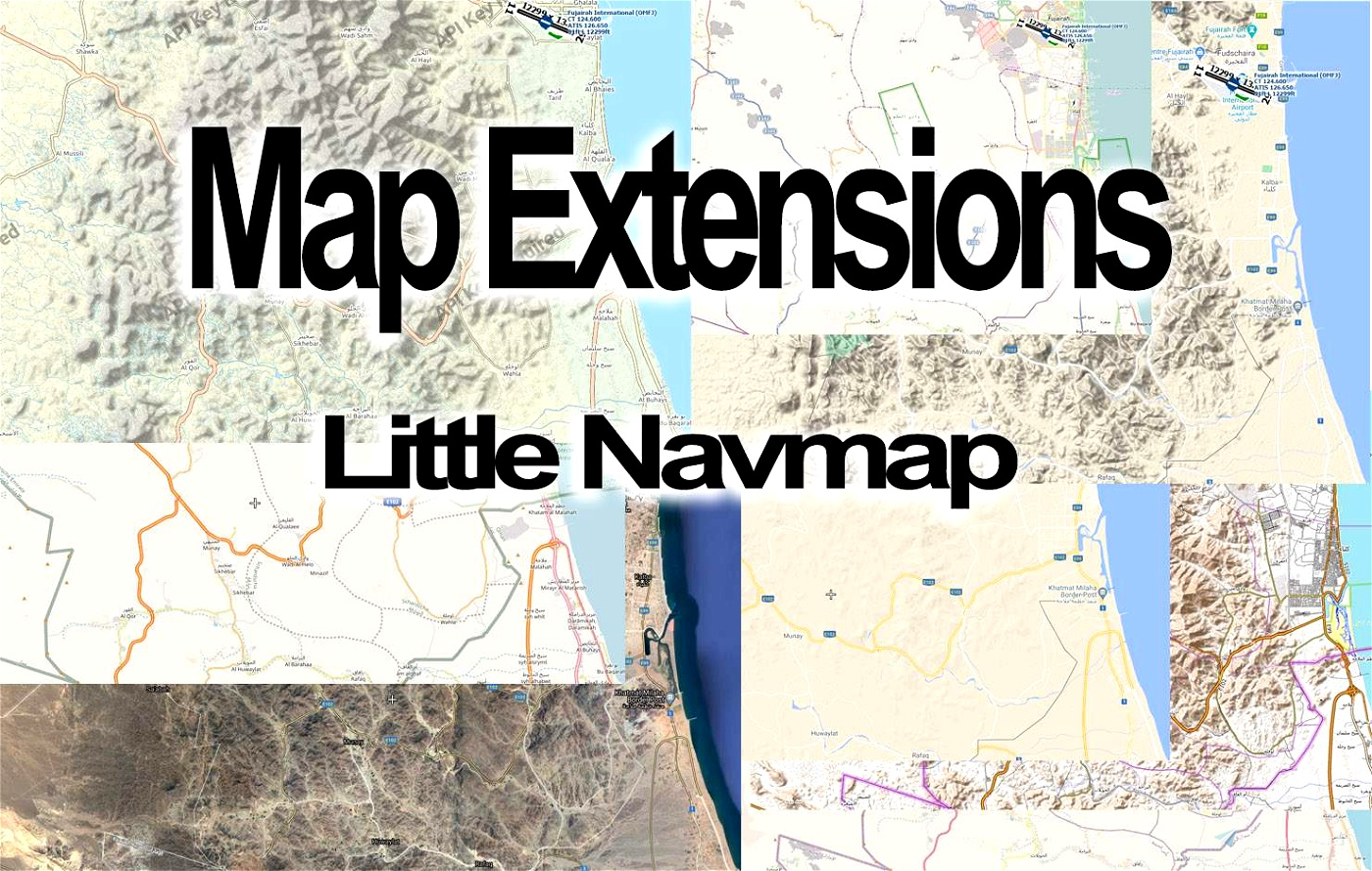 Map extensions for Little Navmap (LNM) Flight Simulator 2020