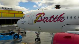 Batik Air 8K (PK-BDF)  Microsoft Flight Simulator