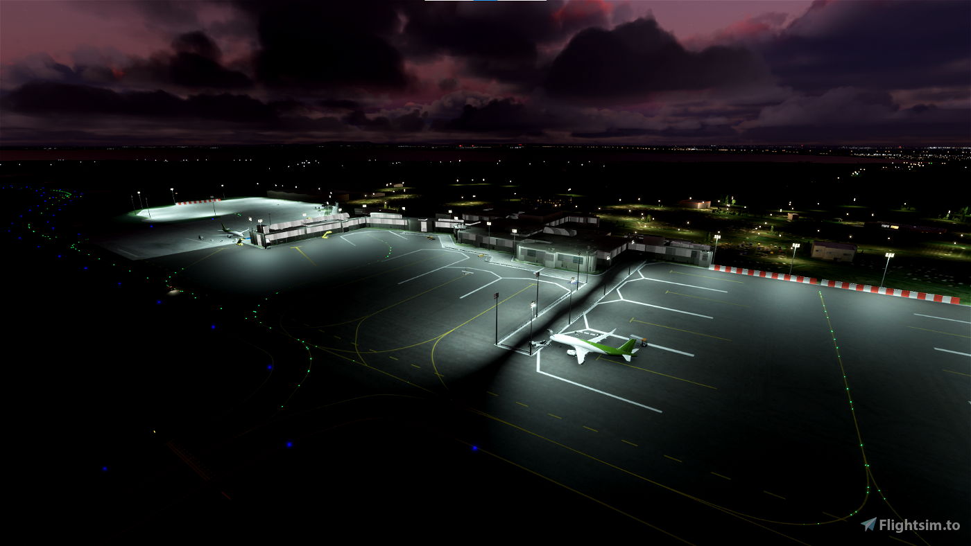 EGAA- Belfast International (Aldergrove) Airport Flight Simulator 2020