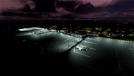 EGAA- Belfast International (Aldergrove) Airport Image Flight Simulator 2020