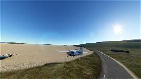 Barra (EGPR) Landing Challenge Image Flight Simulator 2020