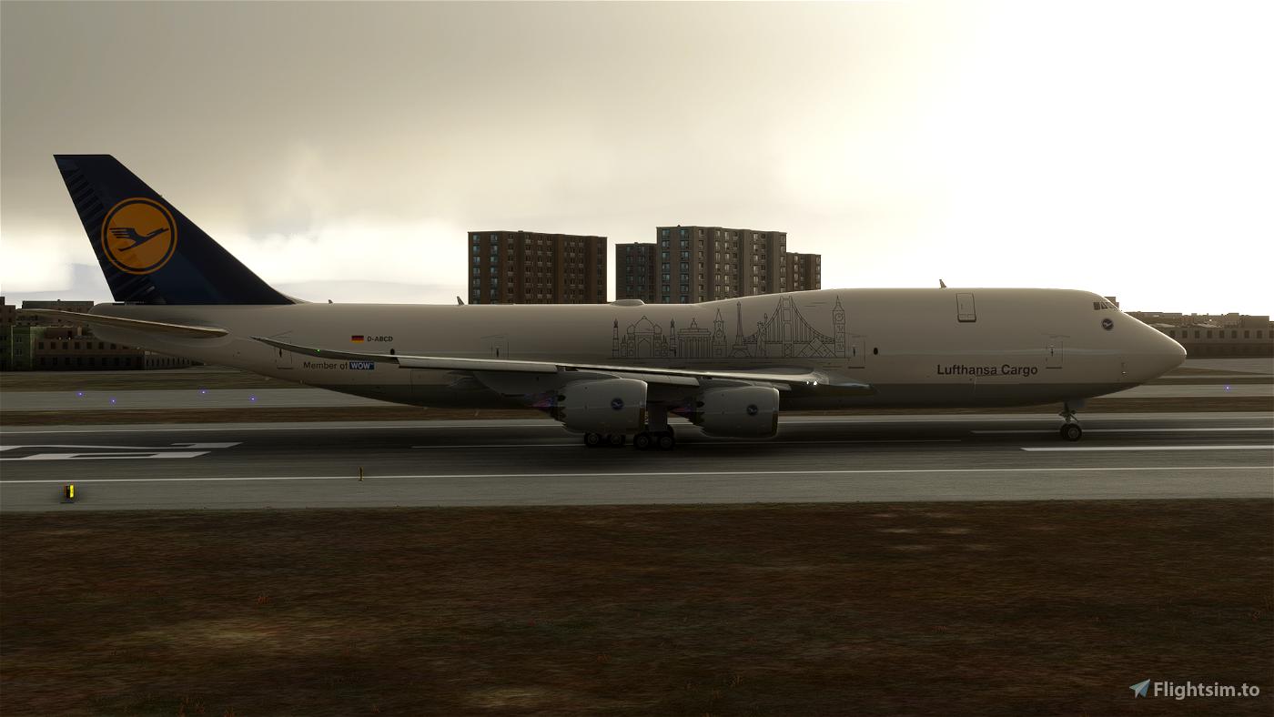 Lufthansa Fictional Cargo (No Text Mirroring) - 8K ...
