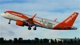 Easyjet A320 neo G-UZHA 8K Image Flight Simulator 2020