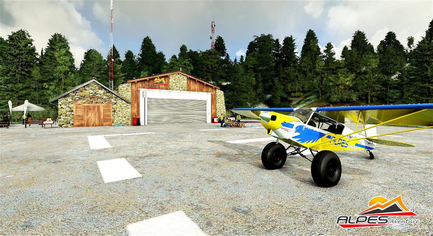 Avoriaz altisurface F7427 Flight Simulator 2020