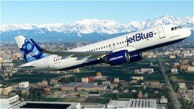 Jetblue A320neo blueberries tail N627JB(8k) Image Flight Simulator 2020