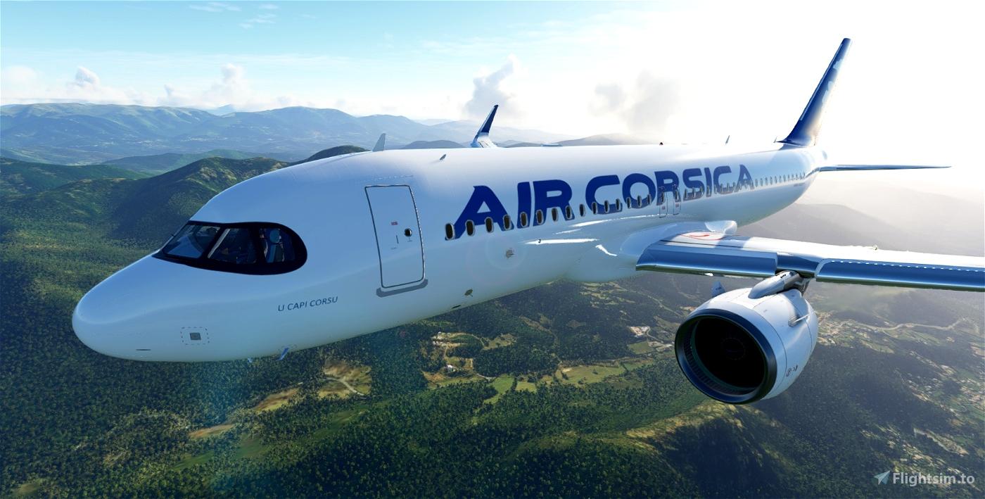 Air Corsica A320Neo F-HXKJ