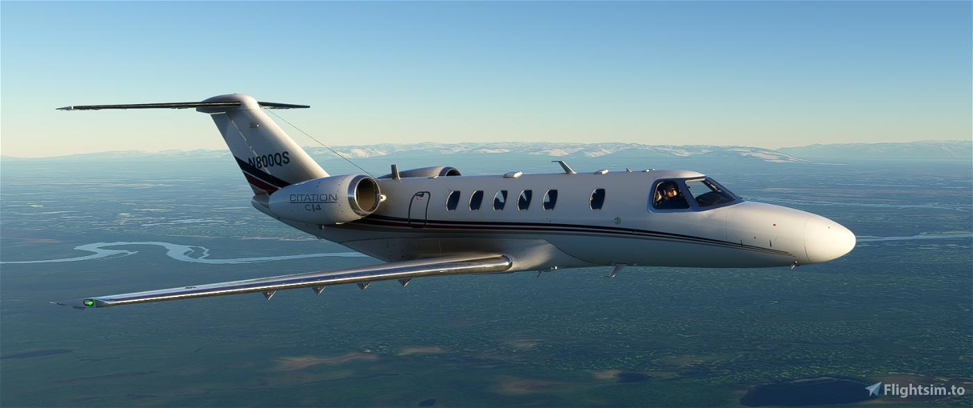 Cessna CJ4 NetJets
