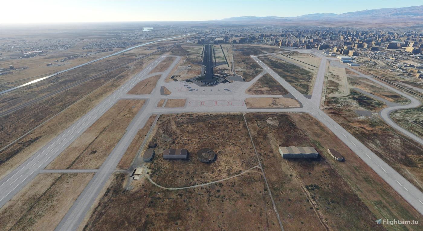 Ashgabat UTAA (Airport & Lights Enhancement) Flight Simulator 2020