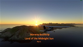 Land of the Midnight Sun - Norway - part 2 Image Flight Simulator 2020