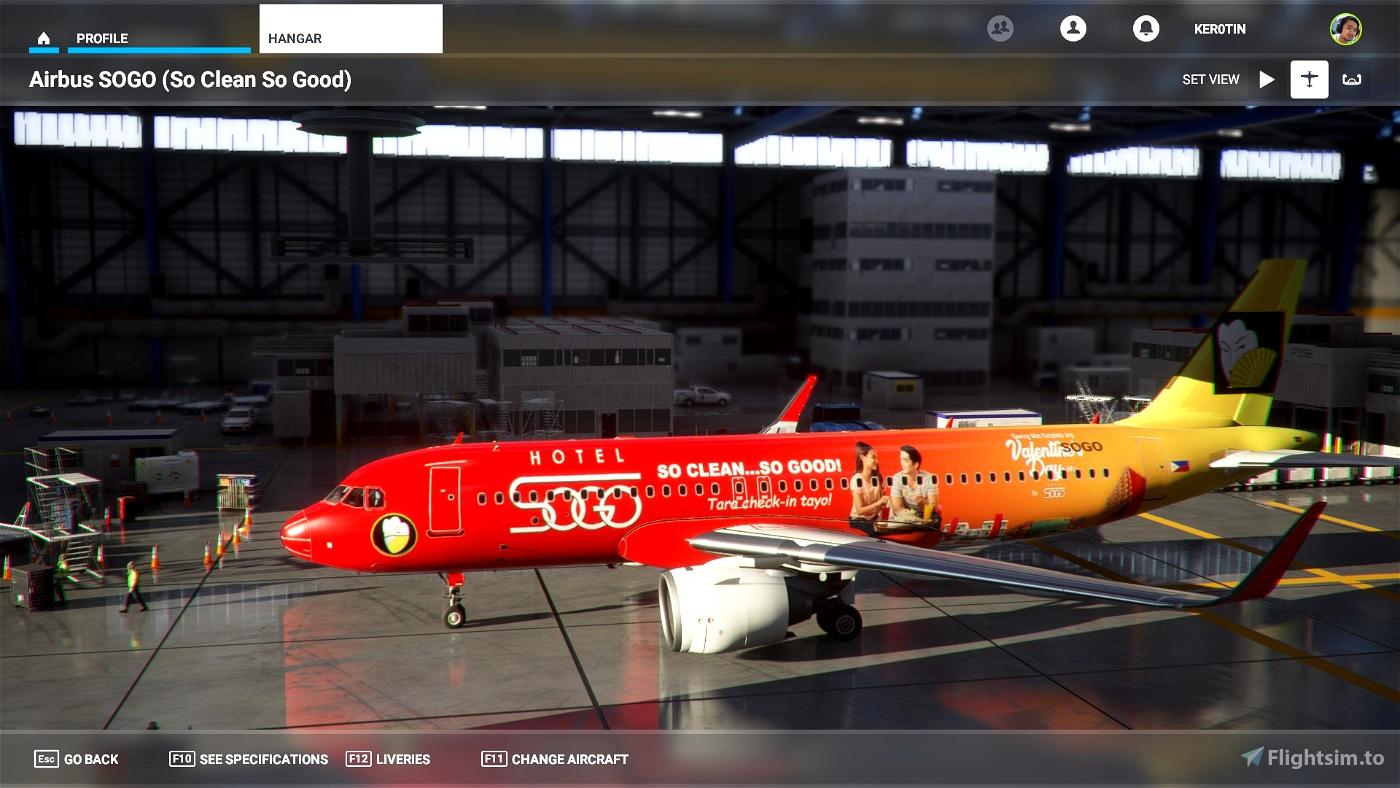 Airbus A320 Neo Hotel SOGO Flight Simulator 2020
