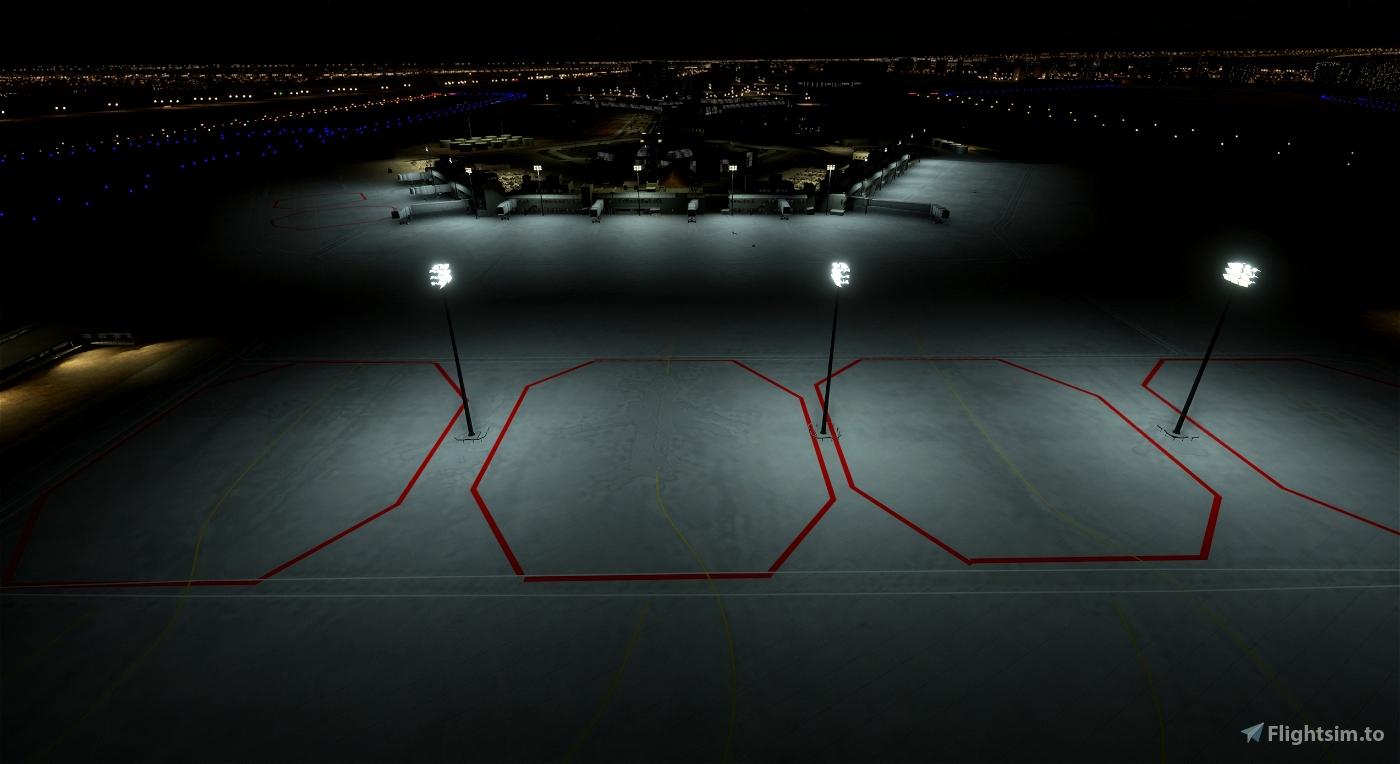 Ashgabat UTAA (Airport & Lights Enhancement)