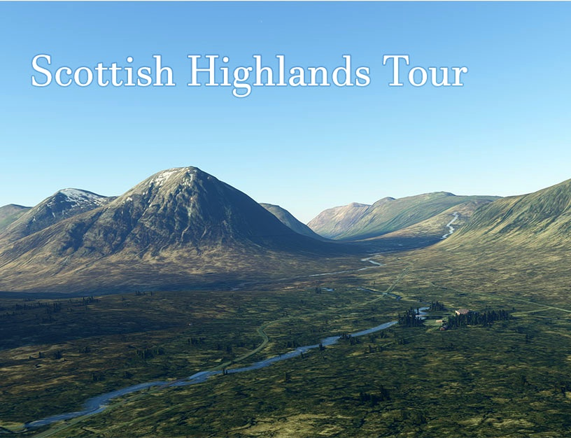 Scottish Highlands Tour Flight Simulator 2020