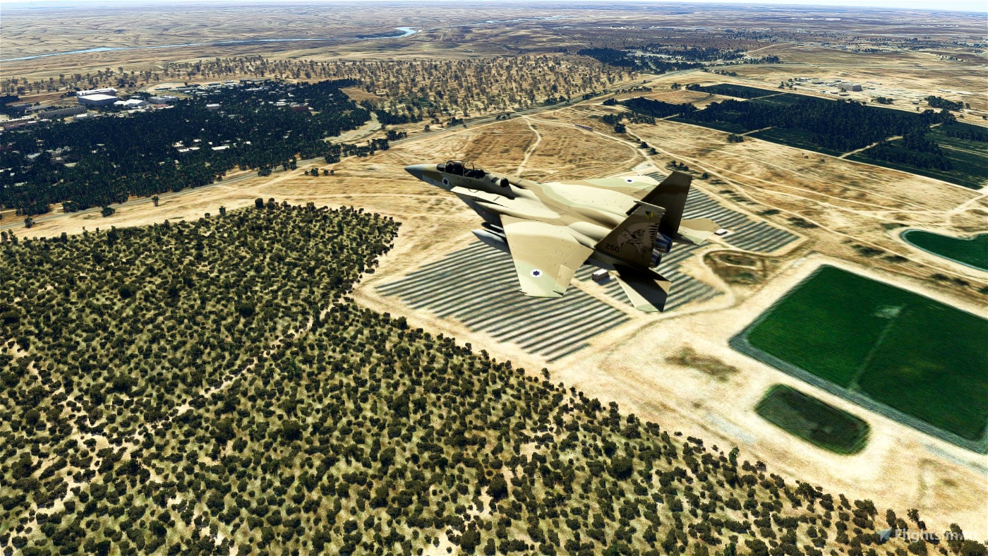 Hatzerim Israeli Air Force Base - Improvement