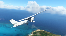 Cessna 172Sp (G1000 & Classic) Art Stripes - Green Blue Gold AND Grey Red Blue - Parorng Image Flight Simulator 2020