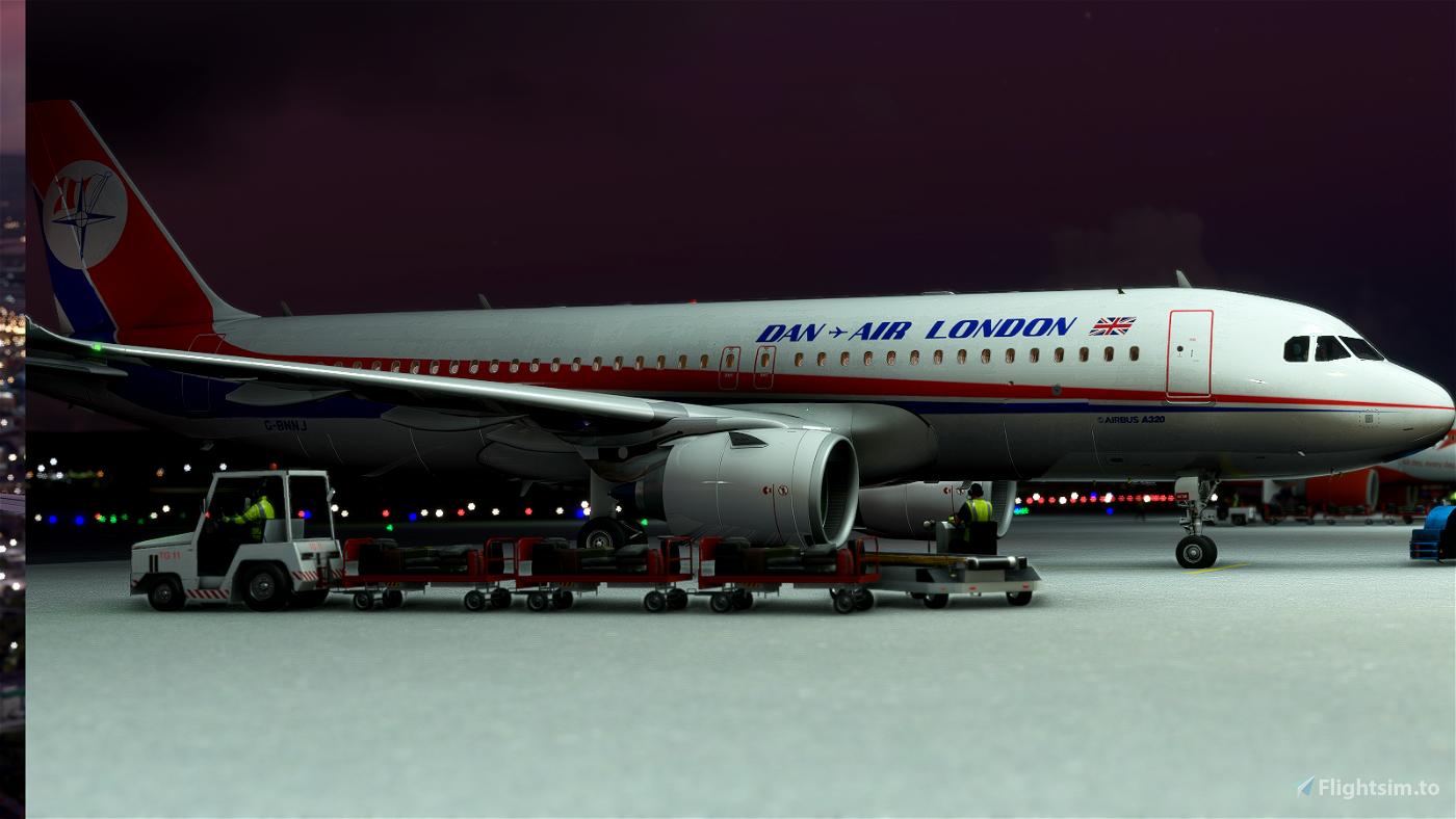 A320 Dan-Air