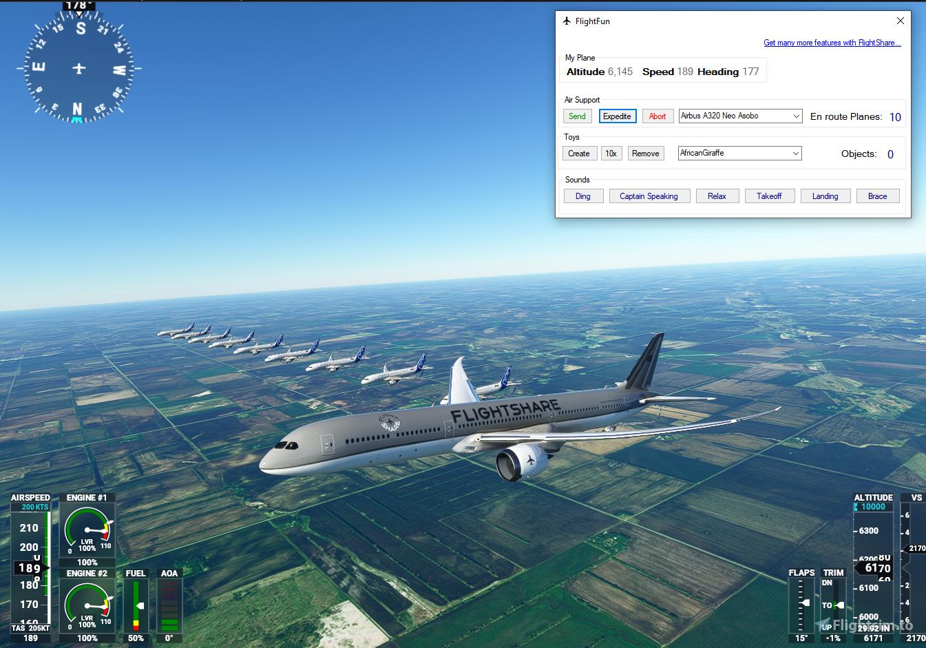 FlightFun Flight Simulator 2020