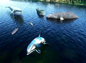 Dave's 3D animals Library Microsoft Flight Simulator
