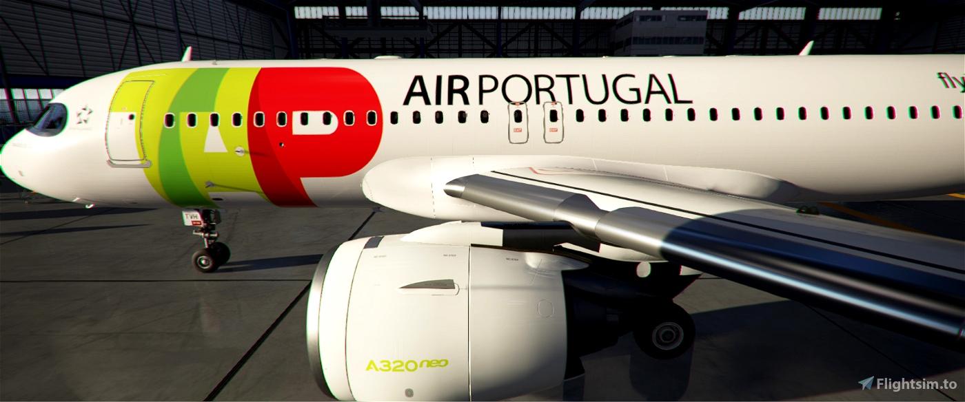 TAP Air Portugal A320neo CS-TVH