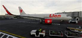 Lion Air (Engines Wings Default, Ai Working) Microsoft Flight Simulator
