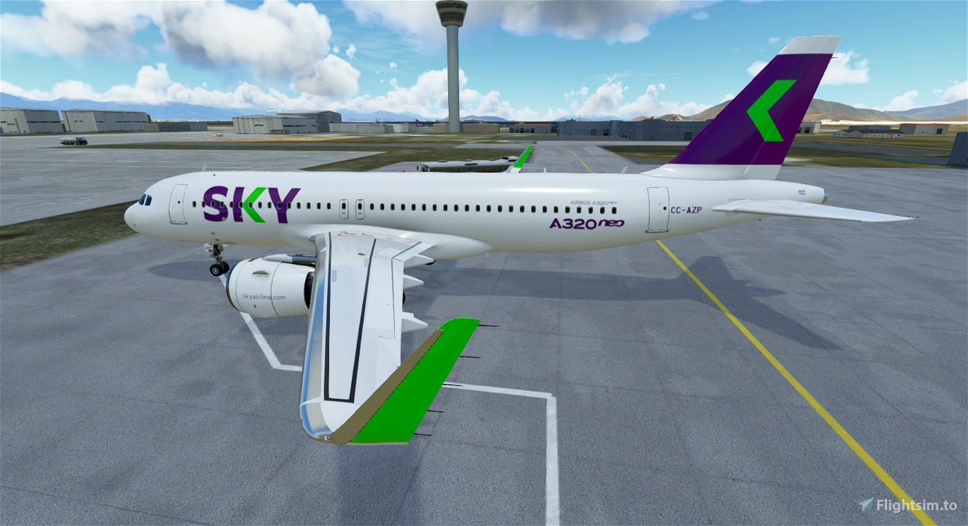 SKY Airline A320NEO CC-AZP