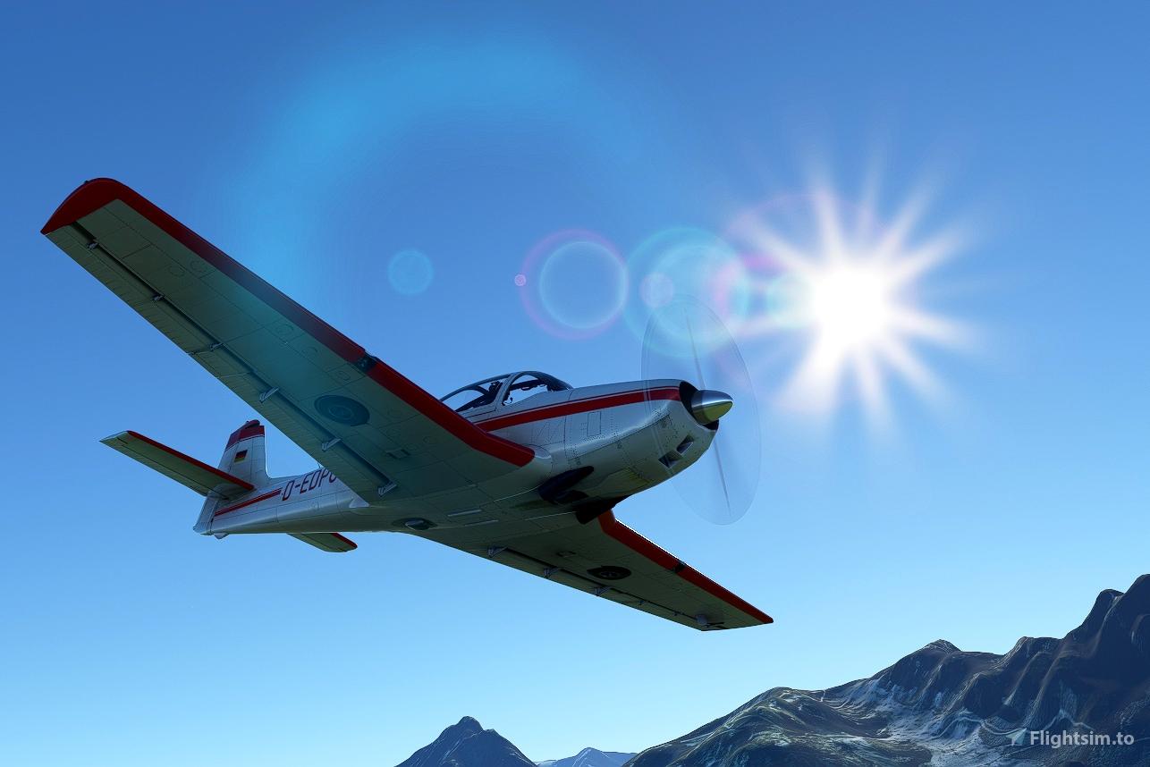 Focke-Wulf Piaggio P.149 Livery