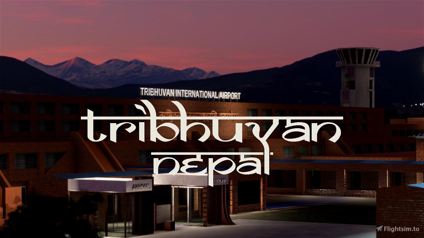 [VNKT] - Tribhuvan International - Kathmandu, Nepal Flight Simulator 2020