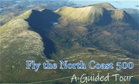 Scotland's North Coast 500 road trip by air Image Flight Simulator 2020